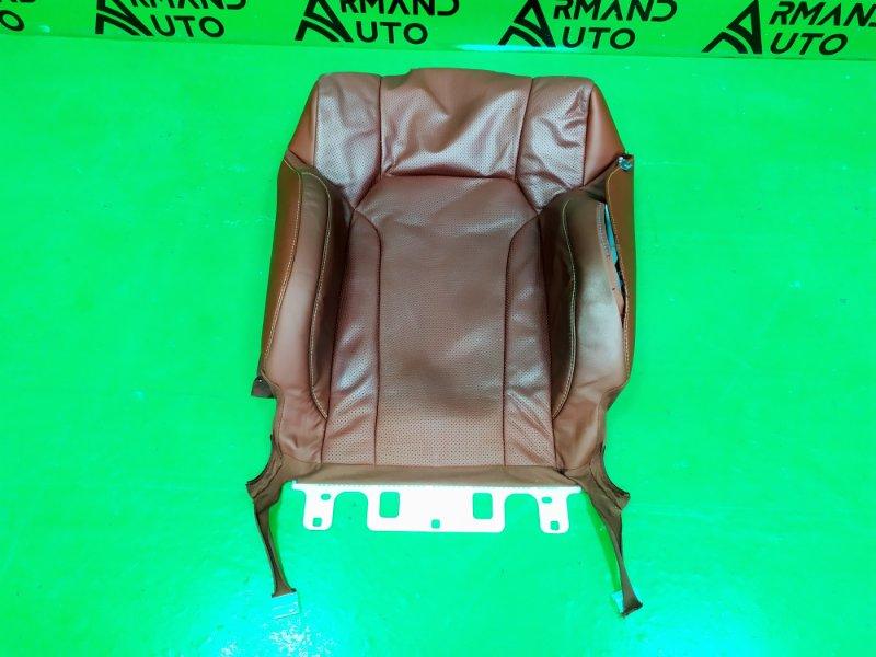 Обшивка сиденья Lexus Lx 3 РЕСТАЙЛИНГ 2 2015 передняя левая (б/у)