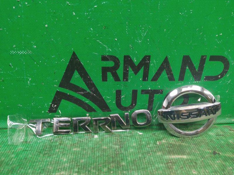 Эмблема Nissan Terrano 3 2014 (б/у)