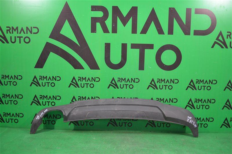 Юбка бампера amg Mercedes С W204 2011 задняя (б/у)