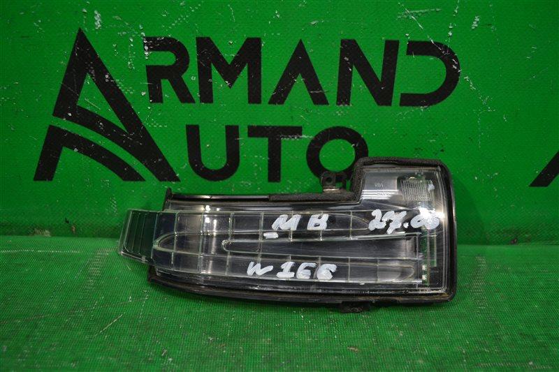 Повторитель указателя поворота Mercedes Ml W166  X166 2011 правый (б/у)