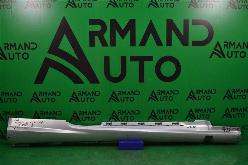 Накладка порога amg Mercedes E Coupe C207 2009 правая (б/у)
