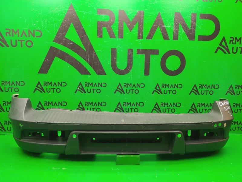 Бампер Chevrolet Niva РЕСТАЙЛИНГ 2009 задний (б/у)