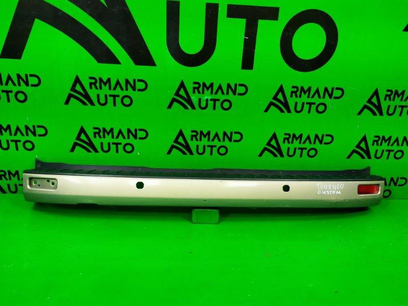 Бампер Ford Tourneo Custom 2012 задний (б/у)
