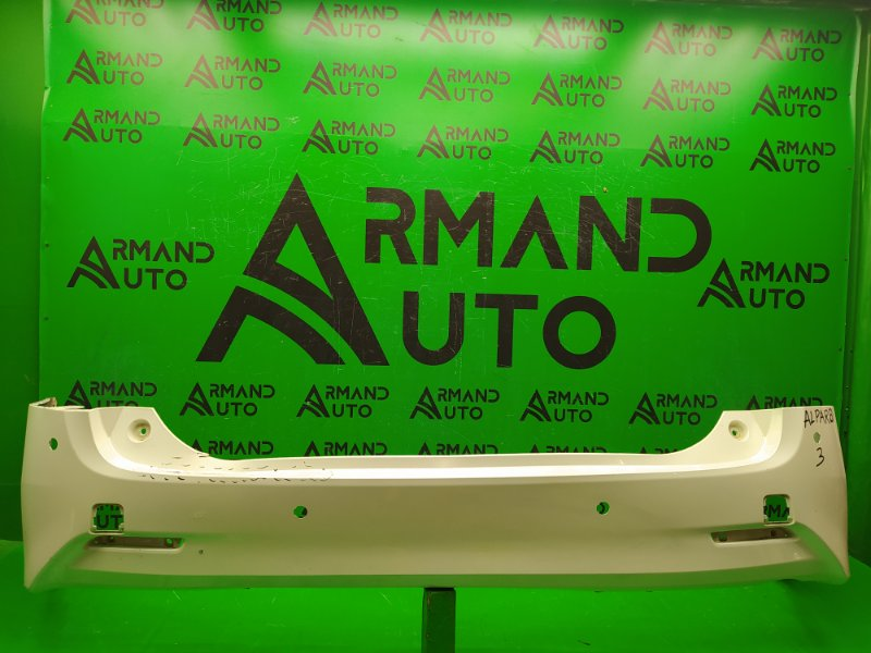 Бампер Toyota Alphard 3 2015 задний (б/у)