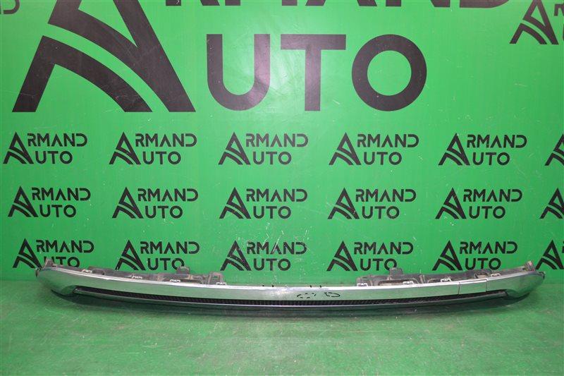 Юбка бампера amg Mercedes Ml W166 2011 задняя (б/у)