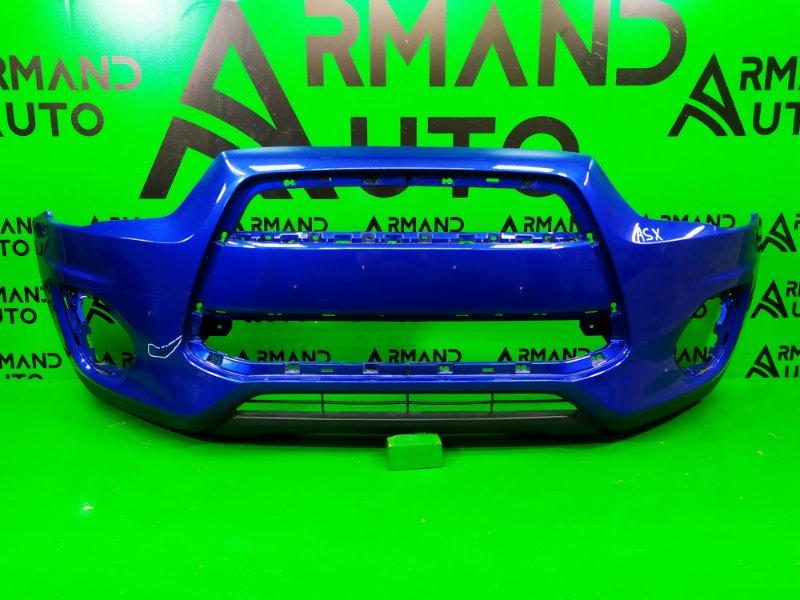 Бампер Mitsubishi Asx РЕСТАЙЛИНГ 2012 передний (б/у)