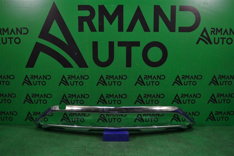Накладка бампера Mercedes Gle Coupe C292 2015 передняя (б/у)
