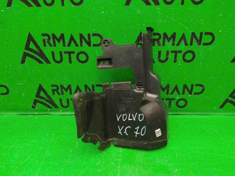 Дефлектор радиатора Volvo Xc70 2 2007 левый (б/у)