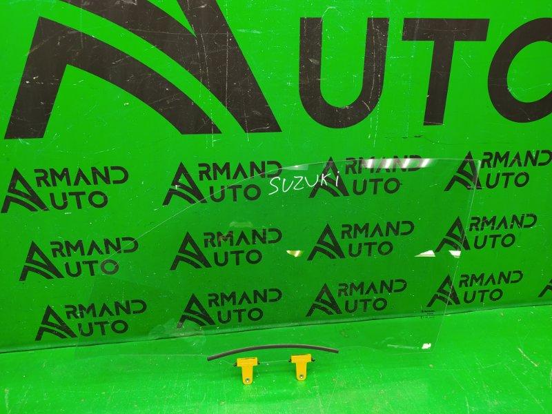 Стекло двери Suzuki Vitara 2 2013 переднее левое (б/у)