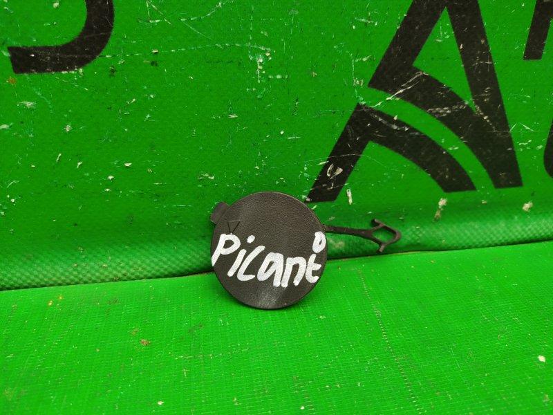 Заглушка буксировочного крюка Kia Picanto 3 2017 (б/у)