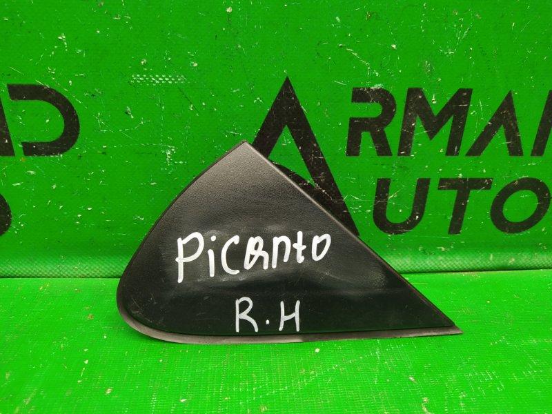 Накладка зеркала Kia Picanto 3 2017 правая (б/у)