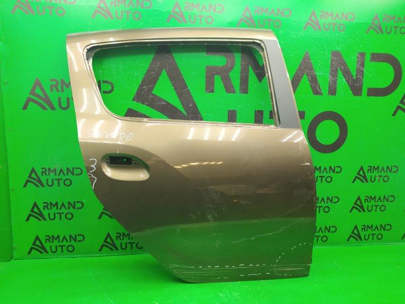 Дверь Renault Sandero 2 2014 задняя правая (б/у)