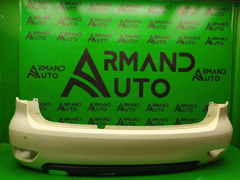 Бампер Nissan Patrol Y62 РЕСТАЙЛИНГ 2010 задний (б/у)