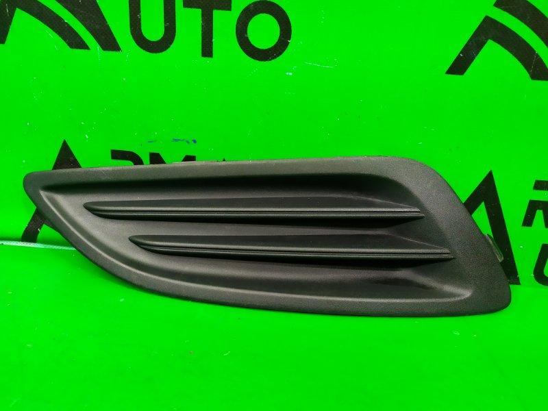 Накладка птф Ford Fiesta 6 РЕСТАЙЛИНГ 2012 правая (б/у)