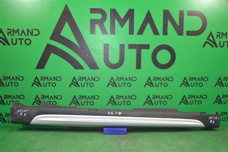 Накладка порога Mini Countryman F60 2013 правая (б/у)