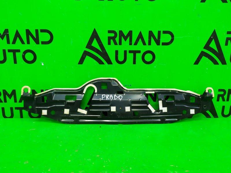 Кронштейн накладки бампера Toyota Land Cruiser Prado 150 2009 задний (б/у)