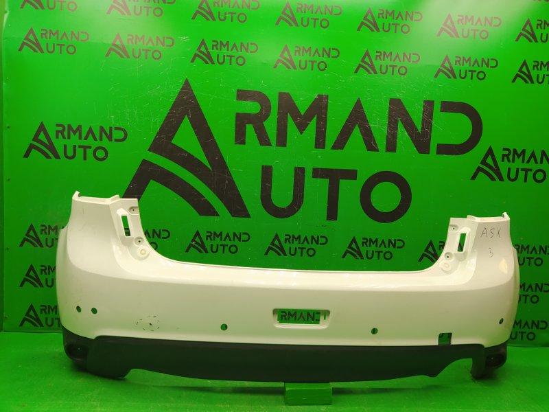 Бампер Mitsubishi Asx РЕСТАЙЛИНГ 2012 задний (б/у)