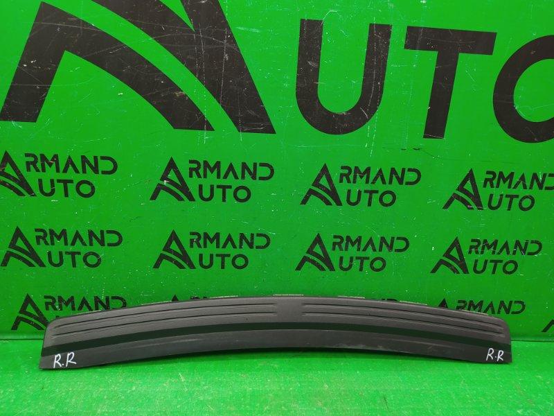 Накладка бампера Land Rover Freelander 2 2006 задняя (б/у)