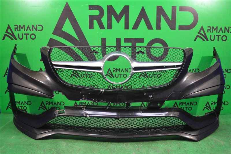Бампер amg 63 Mercedes Gle Coupe C292 2015 передний (б/у)