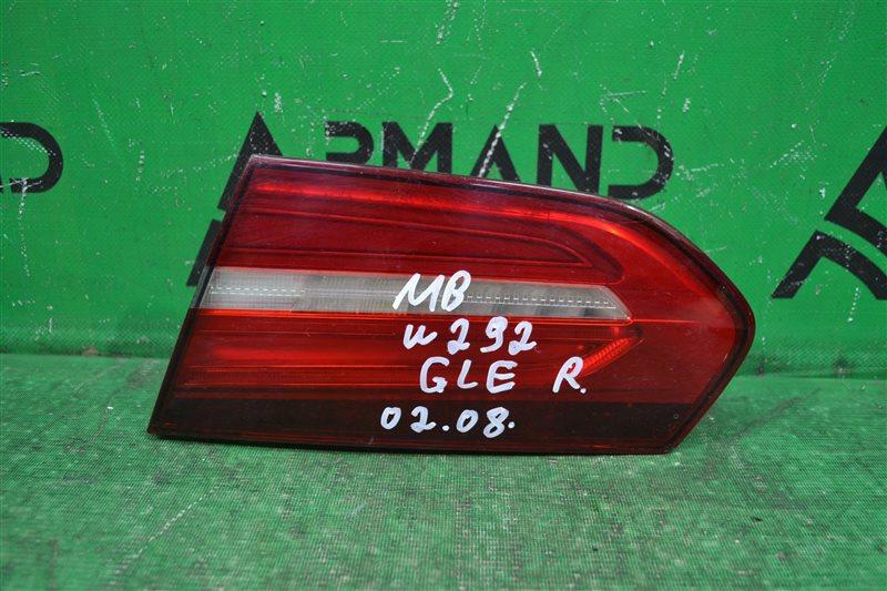 Фонарь Mercedes Gle Coupe C292 2015 правый (б/у)
