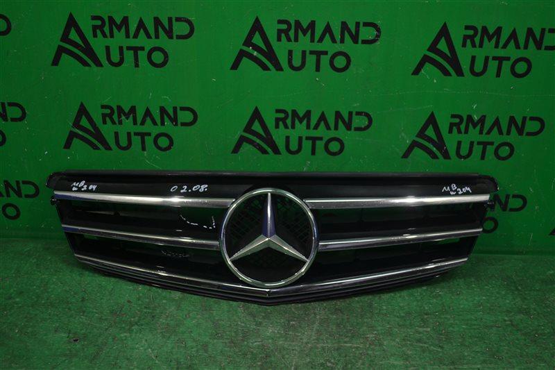Решетка радиатора Mercedes С W204 2011 (б/у)