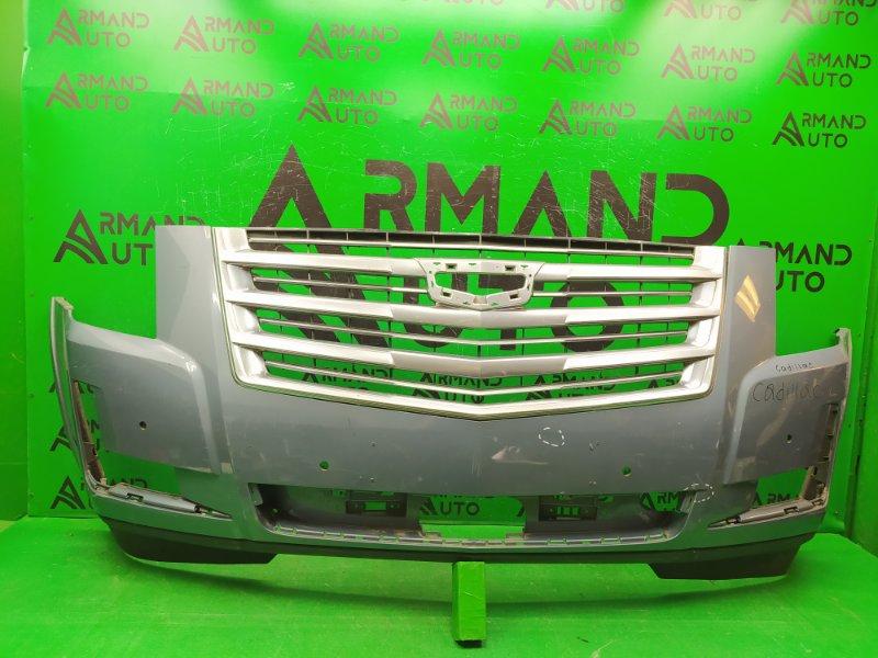 Бампер Cadillac Escalade 4 2014 передний (б/у)