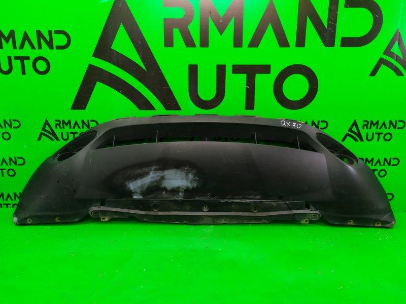 Юбка бампера Infiniti Qx70 2013 передняя (б/у)