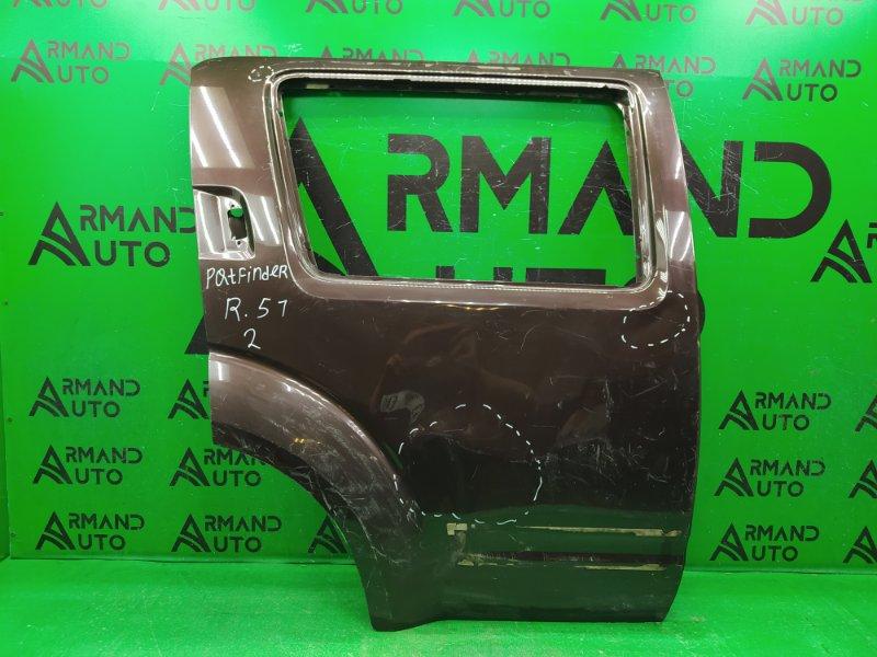 Дверь Nissan Pathfinder R51 2004 задняя правая (б/у)