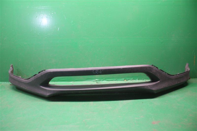 Юбка бампера Honda Cr-V 4 2012 передняя нижняя (б/у)