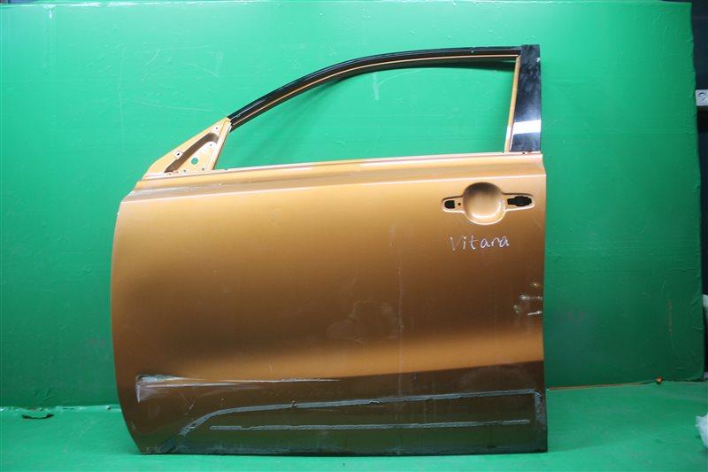 Дверь Suzuki Vitara 2 2014 передняя левая (б/у)