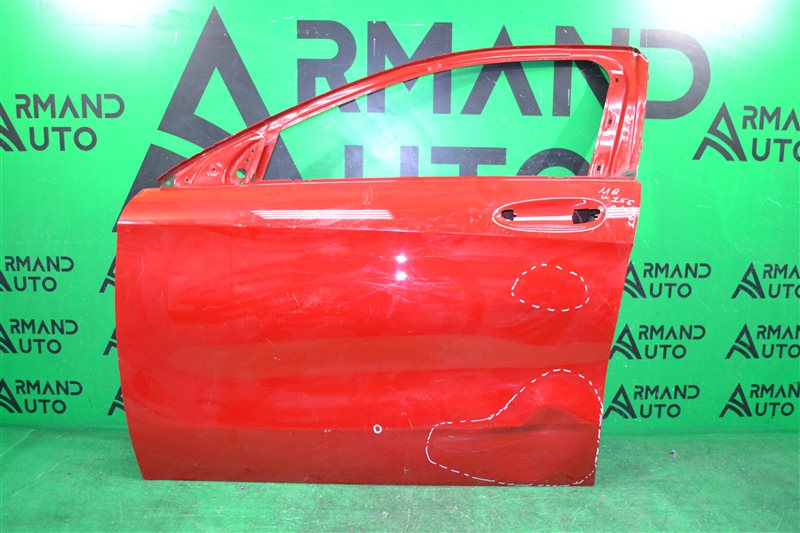 Дверь Mercedes Gla X156 2014 передняя левая (б/у)