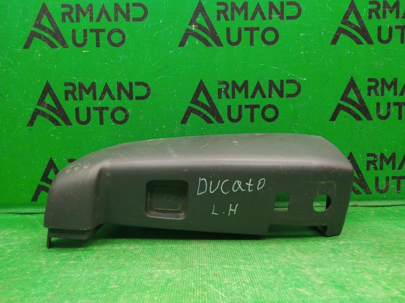 Накладка бампера Fiat Ducato 3 2006 задняя левая (б/у)