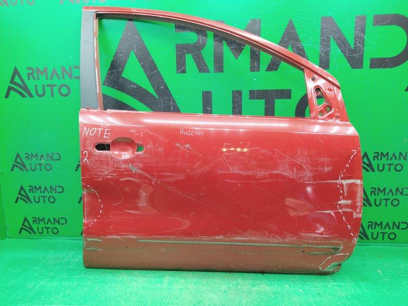 Дверь Nissan Note 2005 передняя правая (б/у)