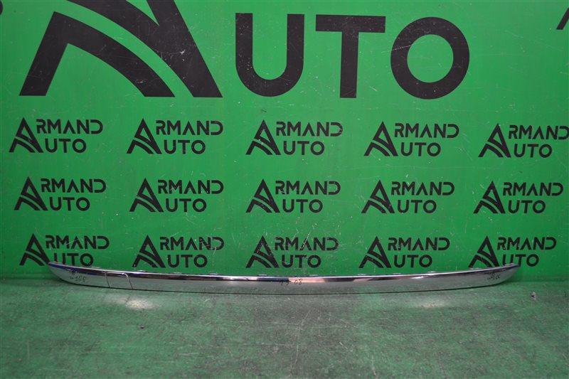 Накладка бампера Mercedes Gl X166 2012 задняя (б/у)