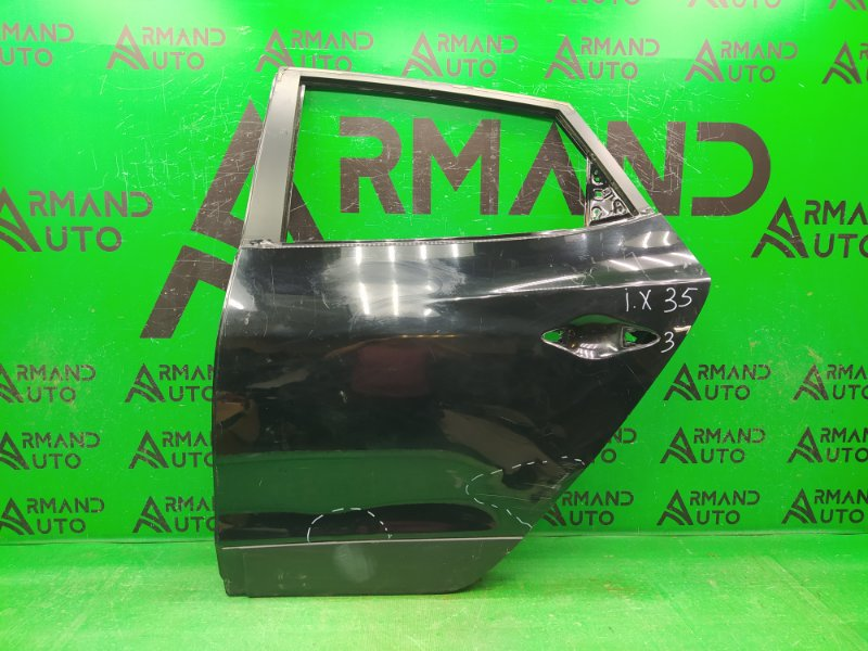 Дверь Hyundai Ix35 2010 задняя левая (б/у)