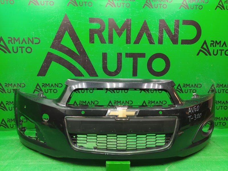Бампер Chevrolet Aveo T300 2011 передний (б/у)