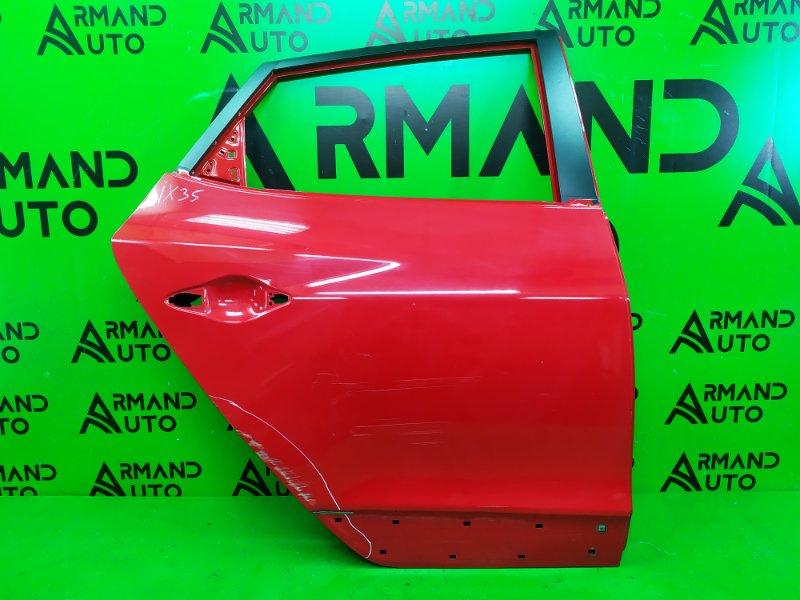 Дверь Hyundai Ix35 2010 задняя правая (б/у)