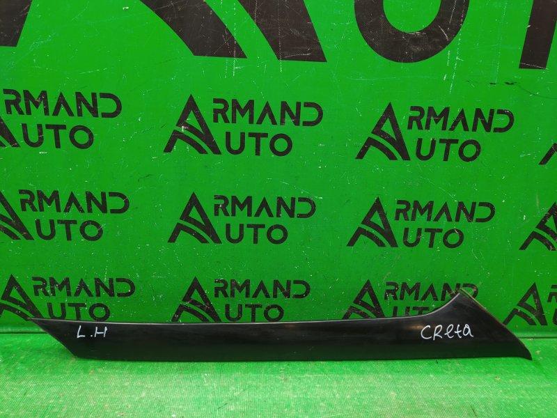 Накладка лобового стекла Hyundai Creta 2016 левая (б/у)