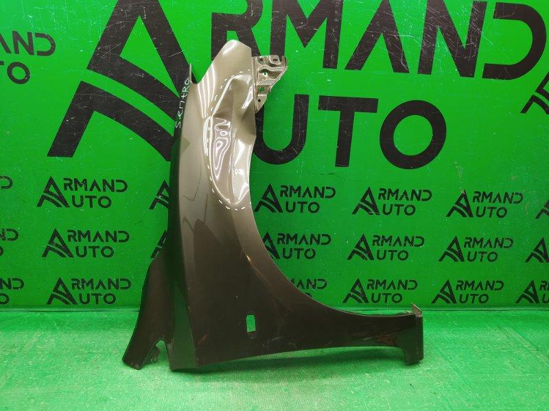 Крыло Nissan Sentra B17 2012 переднее правое (б/у)