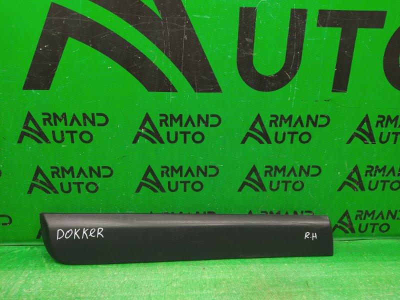Накладка двери Dacia Dokker 2012 задняя правая (б/у)