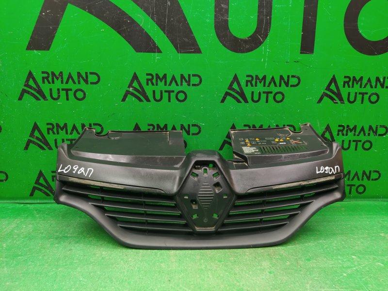 Решетка радиатора Renault Logan 2 2014 (б/у)