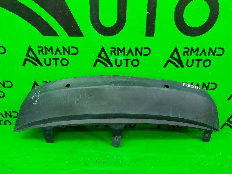 Юбка бампера Ford Fiesta MK6 РЕСТАЙЛИНГ 2012 задняя (б/у)