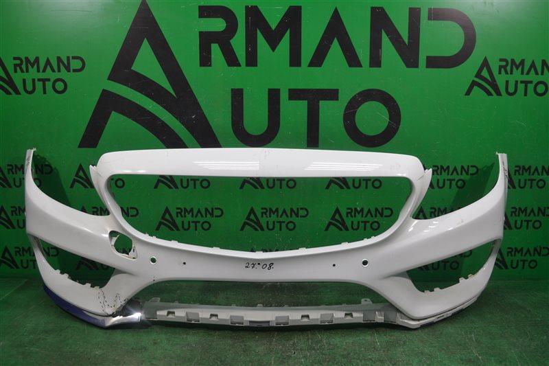 Бампер amg Mercedes C W205 2014 передний (б/у)