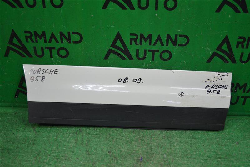 Накладка двери Porsche Cayenne 958 2010 задняя правая (б/у)