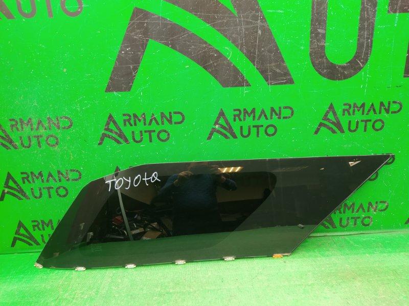 Форточка двери Toyota Fortuner 2 2015 правая (б/у)