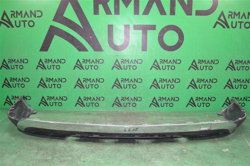 Юбка бампера Mercedes Gl X166 2012 задняя (б/у)