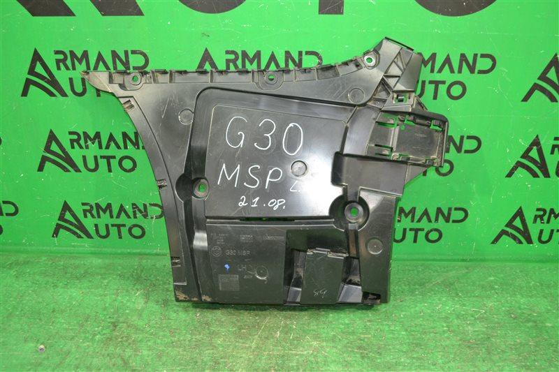 Кронштейн бампера m paket Bmw 5 G30 2016 задний левый (б/у)