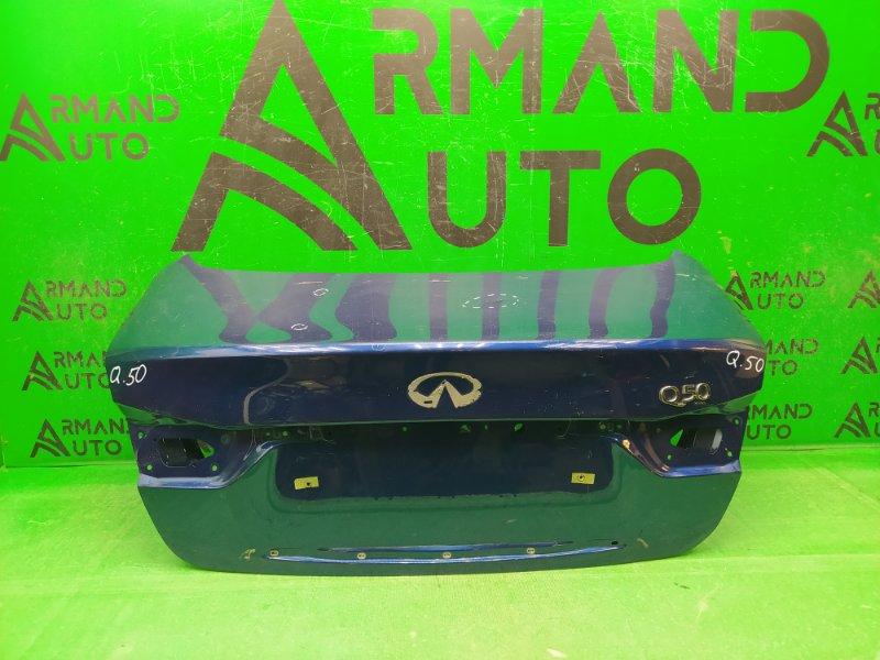 Крышка багажника Infiniti Q50 2013 (б/у)
