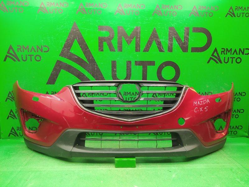 Бампер Mazda Cx5 1 2011 передний (б/у)