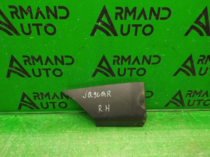Накладка бампера Jaguar F-Pace 1 2016 задняя правая (б/у)